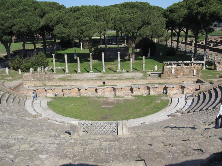 Ostia Antica Amphitheater - Rome
