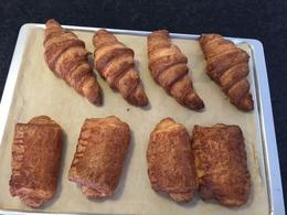 This photo is of the star of the baking class, my 8 croissants/pan de chocolate looking very professional and tasting even better. , njfelioness - September 2016