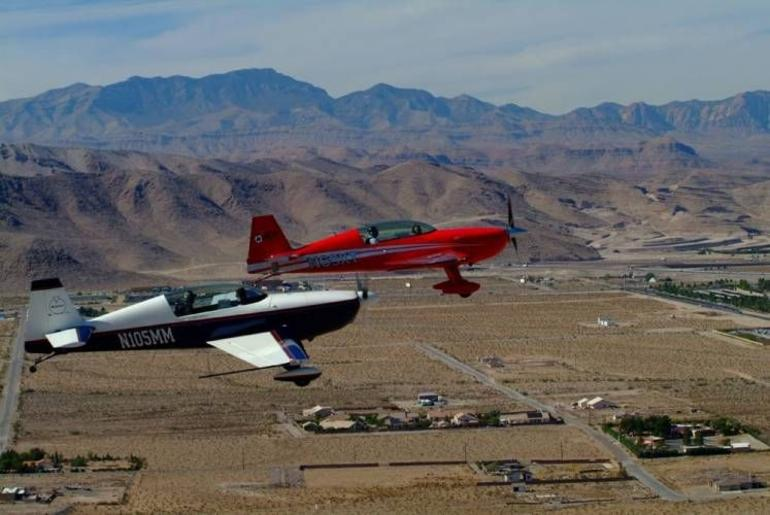 Red-Blue formation - Las Vegas