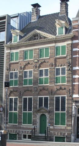 Tour started at the Rembrandt House Museum. , Pat K - October 2016