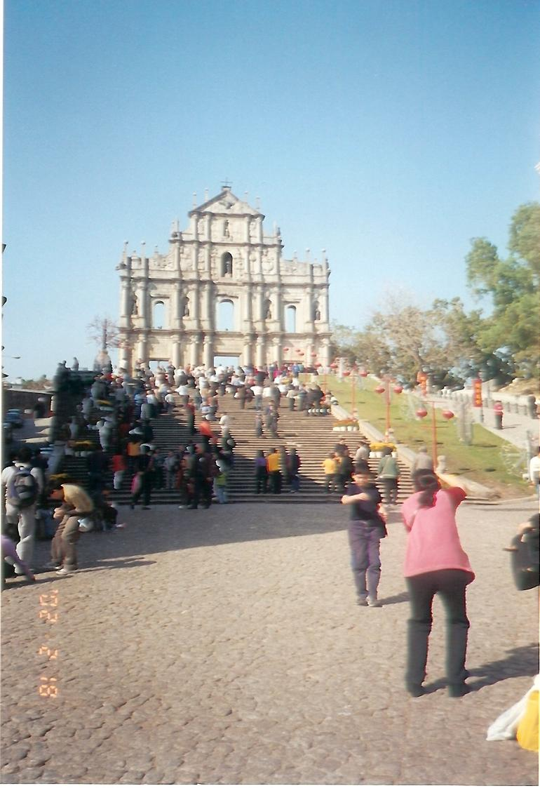 Ruins of Saint Paul - Hong Kong