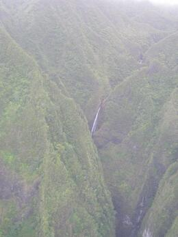 Sacred falls from the helicopter tour. Wish I had a better camera., ToddM - May 2010