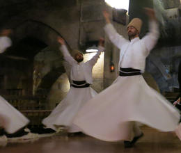 amazing to see the whirling dervishes being so focused - July 2014