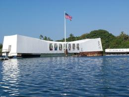 The beautiful Arizona Memorial., Andrew K - January 2010