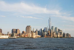 Approaching the new WTC as seen in the distance. , Linda S. D - July 2013