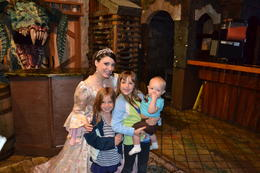 The girls just loved getting to meet the princess., charley - March 2014