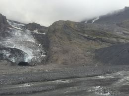 Clouds rolling in over the glacier. , Samantha S - August 2015