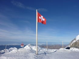Top of Europe ~ Swiss Flag , Cindy F - December 2011