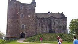 Doune Castle - only the exterior in 10 minutes , Irina O - May 2017