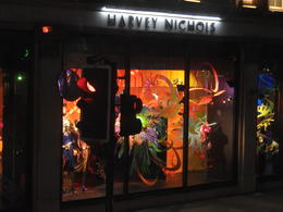 Harvey Nichols store font , Nana - May 2017