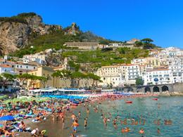 The town of Amalfi. , Marilyn H - July 2017