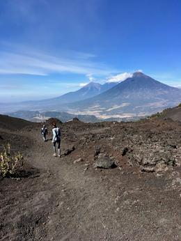 Volcan de Agua and Volcan de Fuego in the background. , gdimanzo - February 2018