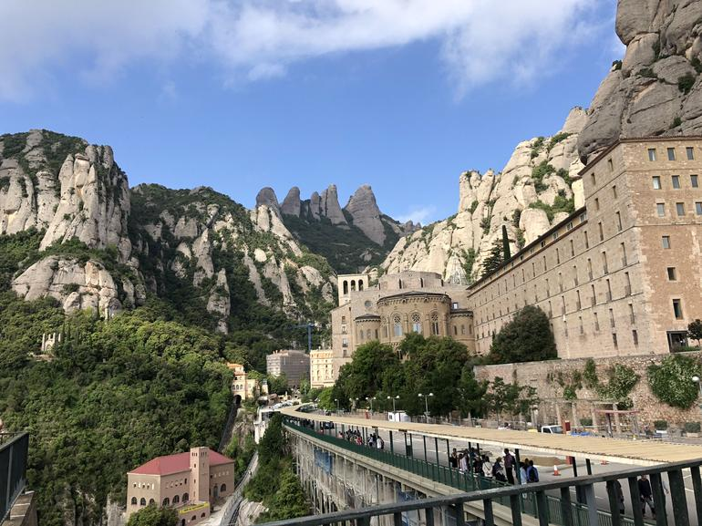 Montserrat Monastery with Cava Wine Tasting Small Group Tour from Barcelona