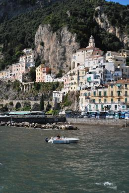 one view of the city of Amalfi from the pier, Michael K - September 2010