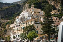 Picture taken at beach at down town Amalfi, ROBERT M - September 2009