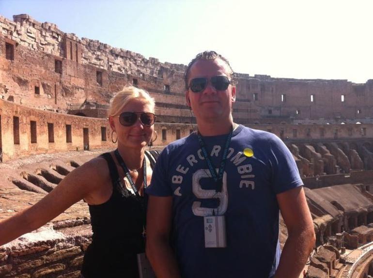 Colloseum tour 20 August - Rome