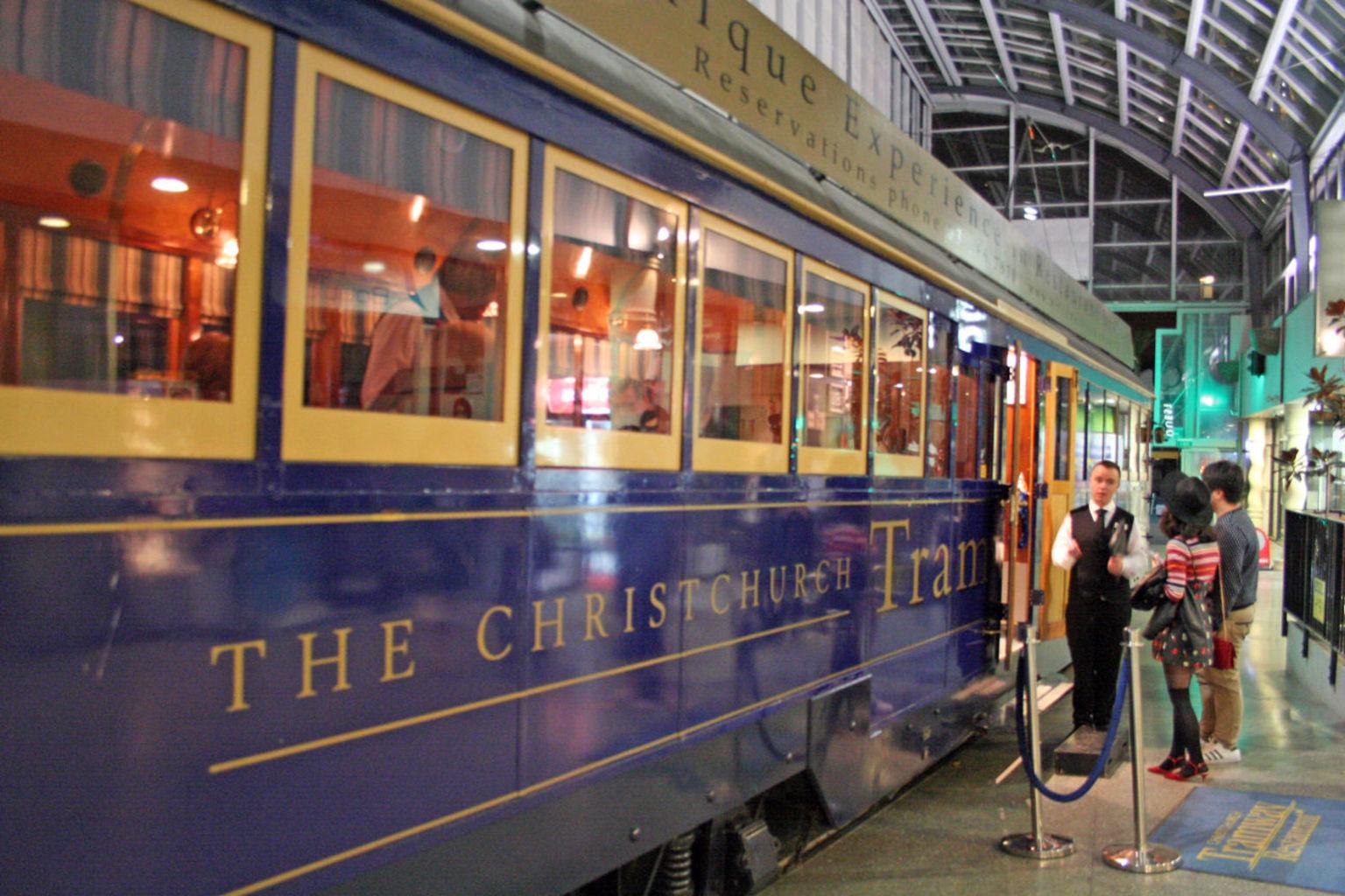 MÁS FOTOS, Recorrido con cena en Tramway Restaurant en Christchurch