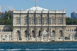 Dolmabahce Palace on the Bosphorus waterfront, Istanbul - May 2011