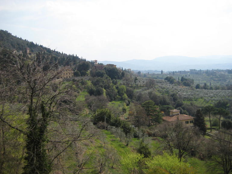 On the way to Fisole - Florence