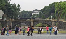 On the grounds of the Imperial Palace. , Bill604 - November 2015