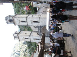The busy square in Kotor , Margaret S - August 2016