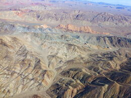 Landscape on the way back to Vegas , Patricia B - August 2014