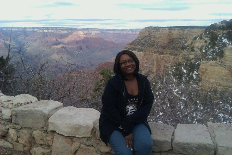 Me at the Grand Canyon - Grand Canyon National Park