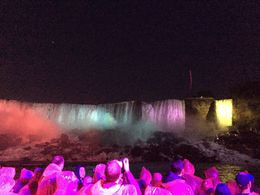 This was taken on 07/04/15 celebrating Independence Day from a Night cruise in Niagara Falls , PAOLA D - July 2015