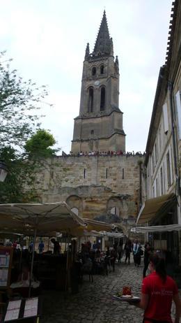 Underground church below this tower. , FourTheBest - July 2012