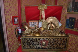 They had several things on display to authenticate this tour. it was great, charley - March 2014