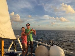 Beautiful sunset cruise in Cozumel , Dayna M - November 2015