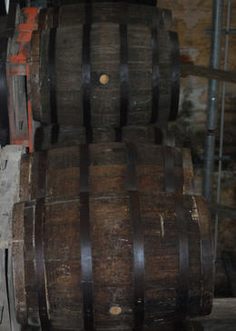 St. Nicholas Abbey Rum Barrels, Louise H - July 2011