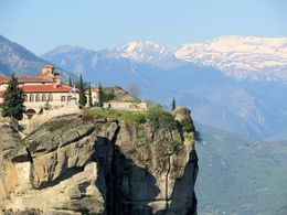 St. Stephen's Monestary in Meteora, Greece is now a nunnery. , Barry C - May 2015