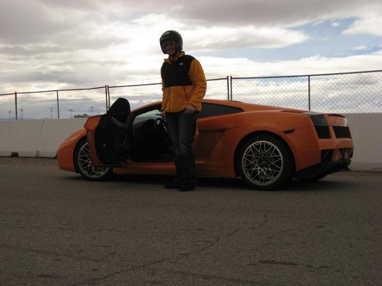 The Orange Lamborghini - Las Vegas