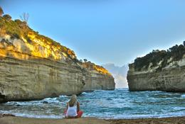 I forgot the name of the place, the stop after the 12 apostles, James L - July 2010