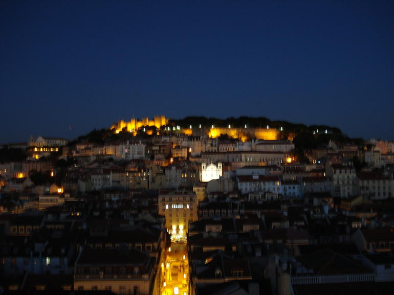 View from Elevador de Santa Justa, Lisbon - Lisbon