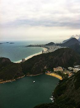 View of Copacabana in the far left side, Saké - September 2011