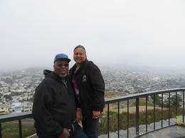 Joyce and Charles posing from City Tour , Joyce T - July 2017