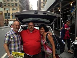 We meet Vito - selling books and photos out the back of his car - how great is that! , Hamowens - October 2013