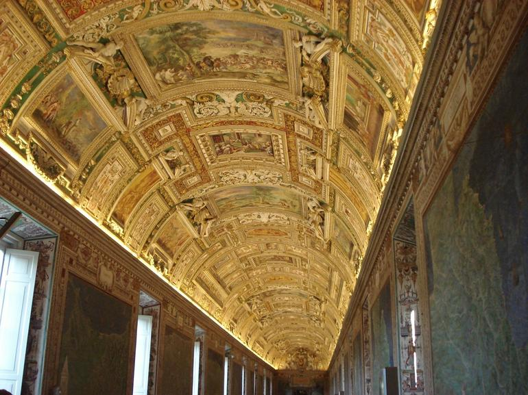 Ceiling from the Room of Maps - Rome