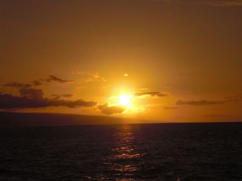 Dinner cruise sunset - Maui