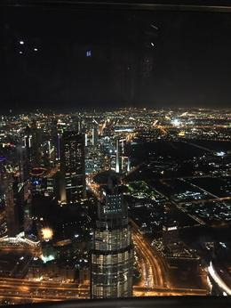 This photo was taken from the top of the Burj Khalifa , Nicola L - October 2016