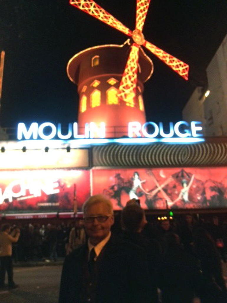 Evening at the Moulin Rouge - Paris