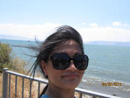 Me at the Galilee lake , Penelope F - September 2012