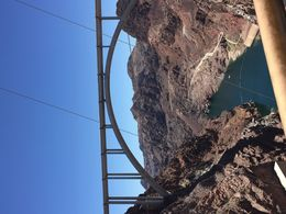 Hoover Dam and bridge , Bill L - July 2016