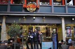 In front of the Hard Rock Cafe in Paris with Hashimoto (works at Hard Rock) where we collected our passes. Hashimoto was a blast!, Werner V - October 2010