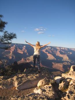 Grand Canyon, South Rim , OLGA P - October 2014
