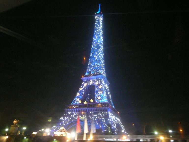 Illuminated Tower - Paris