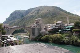 View of the famous Mostar Old Bridge. , Paul M - September 2014