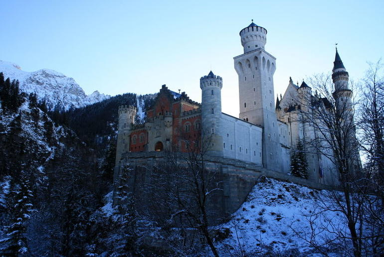 Neuschwanstein in the winter - Munich